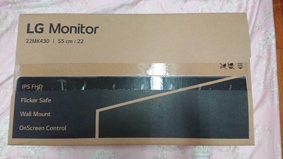 LG monitor 22寸