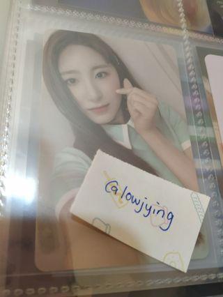 🌸clearance🌸Chaeyeon heartiz photocard