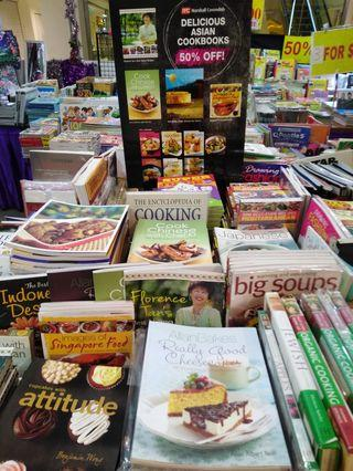 Havelock 2#02-32 assorted cookbooks up to 50%