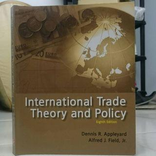 International Trade Theory and Policy(八版)