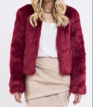 Mila Fur Jacket BRAND NEW WITH TAGS