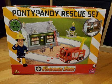 全新Fireman Sam Pontypandy Rescue Set