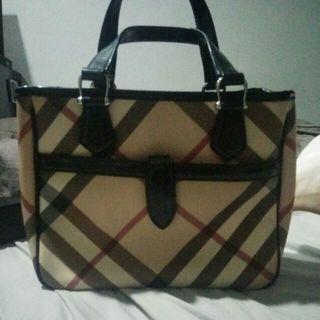 Authentic Burberry Small Tote Bag