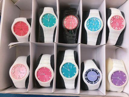 🚚 Relax Time 馬卡龍系列陶瓷手錶