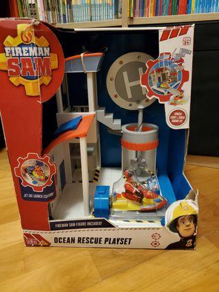 全新Fireman Sam Ocean Rescue Playset