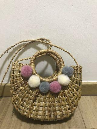 Bamboo Straw Bag