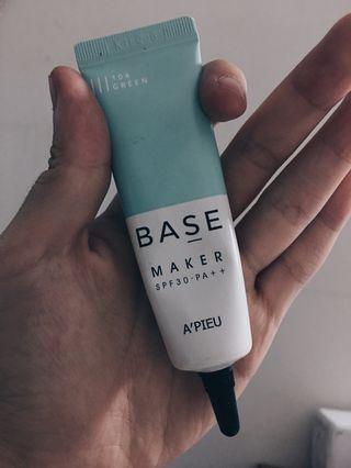 Apieu Base Maker Primer Green
