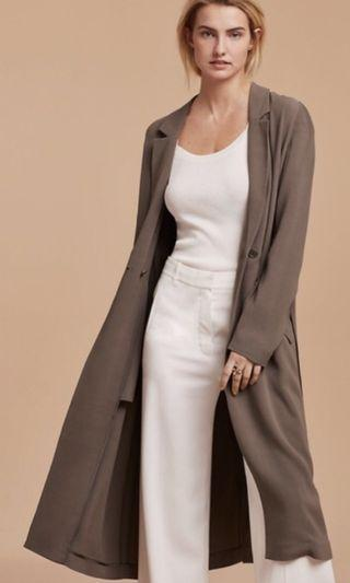 Aritzia Wilfred adelise trench coat