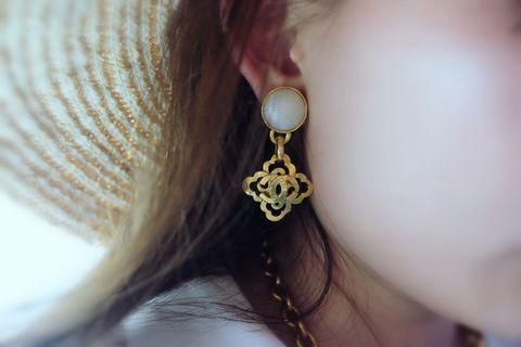 Chanel Earrings耳夾 vintage 復古