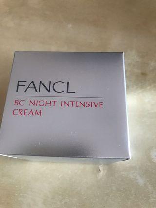 Fancl BC Night Intensive cream