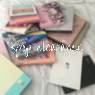 cheap kpop clearance
