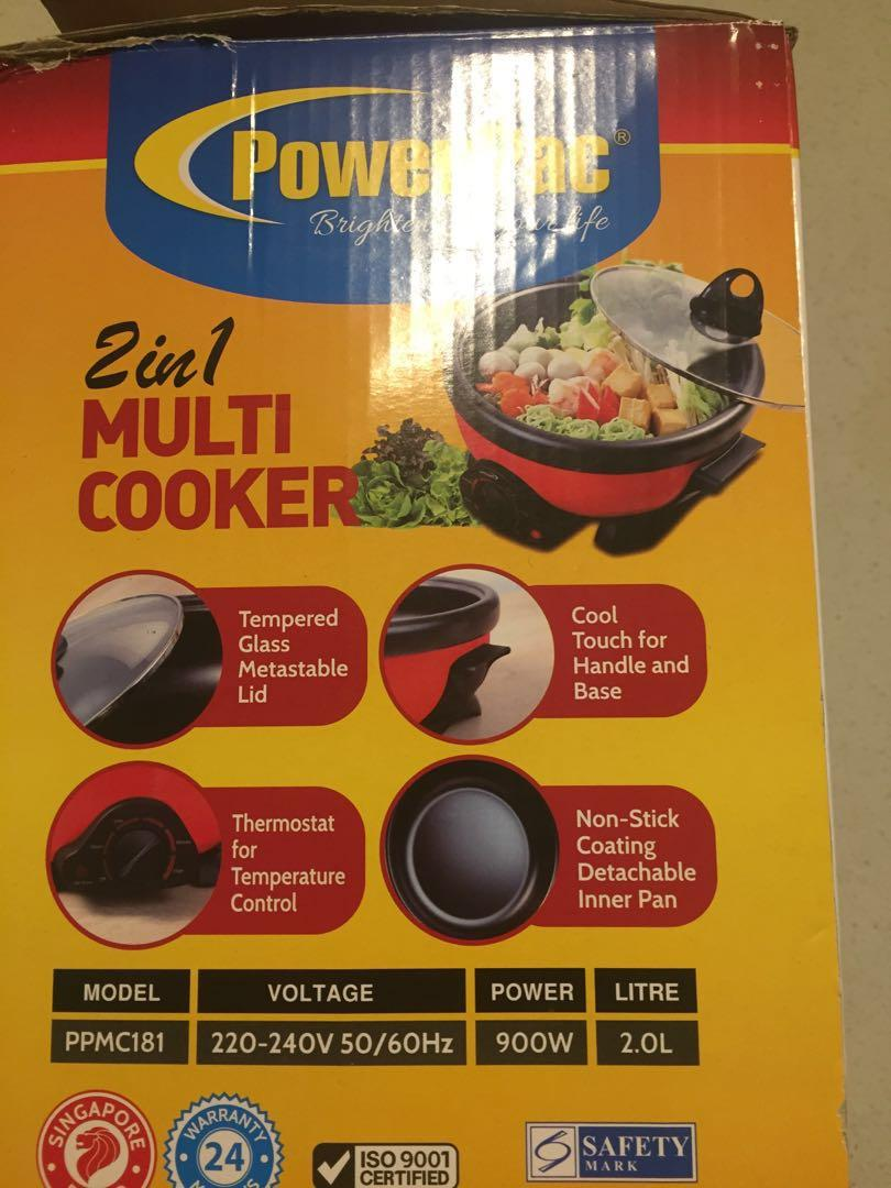 2 in 1 cooker