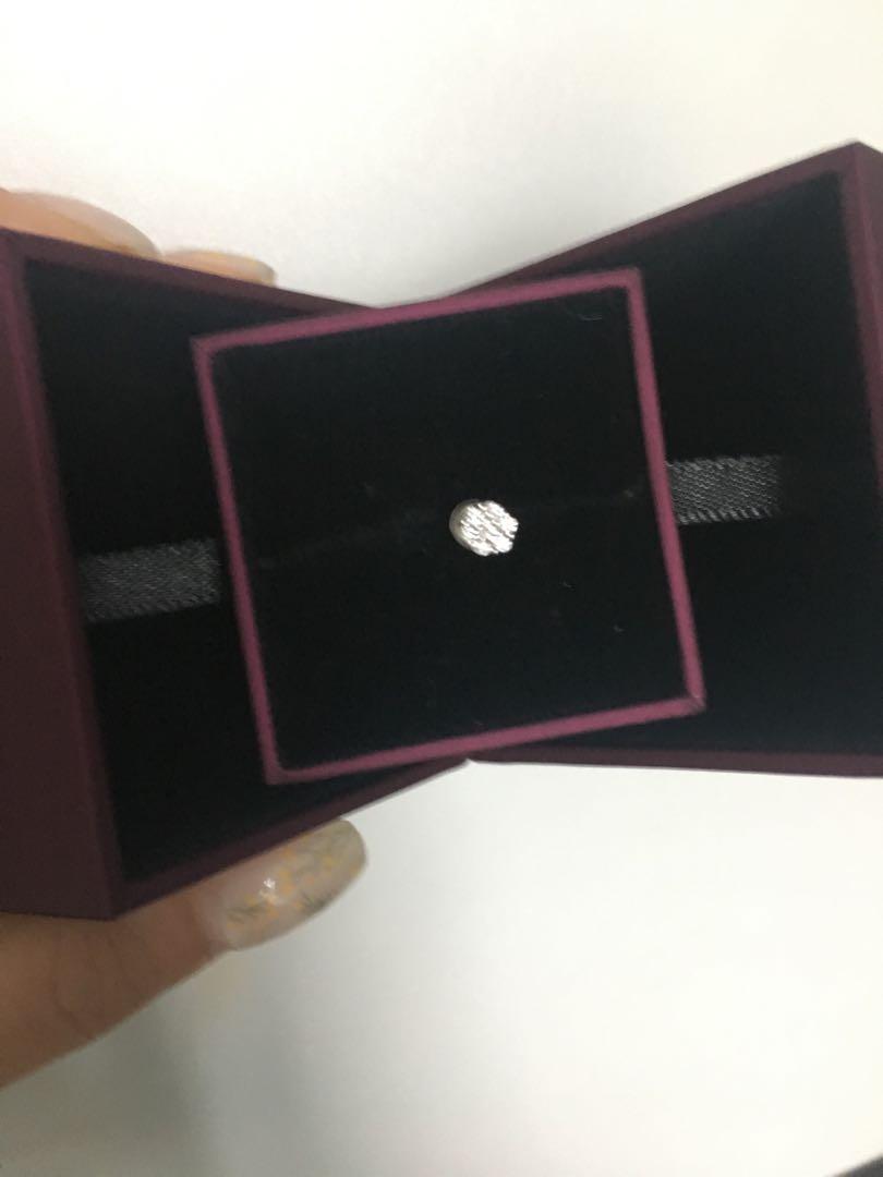 大🈹️價 Mabelle花形單隻鑽石耳環