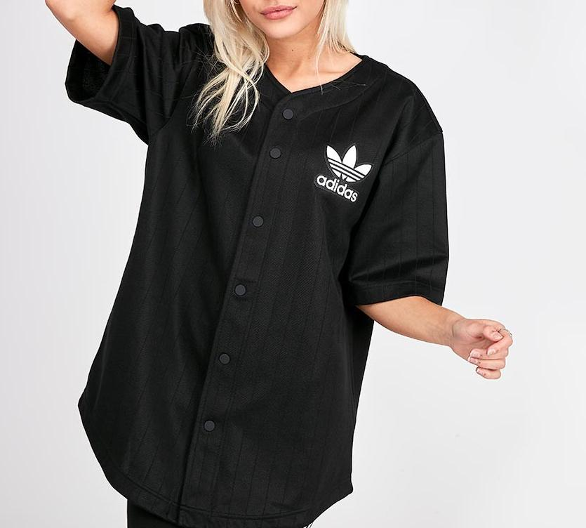 adidas baseball jersey, Women's Fashion, Tops, Longsleeves on ...