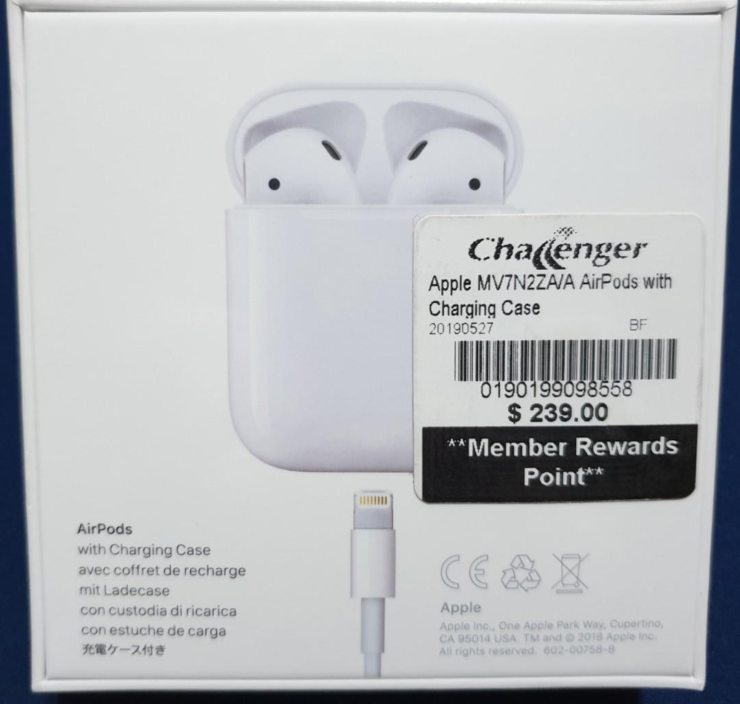 Apple Airpods 2nd Gen Sealed Packaging Fast Deal 215
