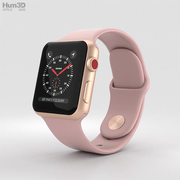 Apple Watch Series 3 42mm Rose Gold Gps Cellular Electronics Others On Carousell