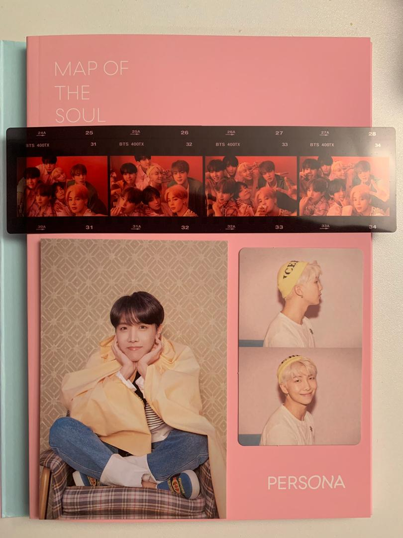 BTS Map of the Soul: Persona Version 1 (with freebies)