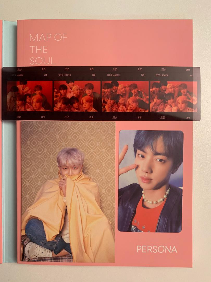BTS Map of the Soul: Persona Version 4 (with freebies)