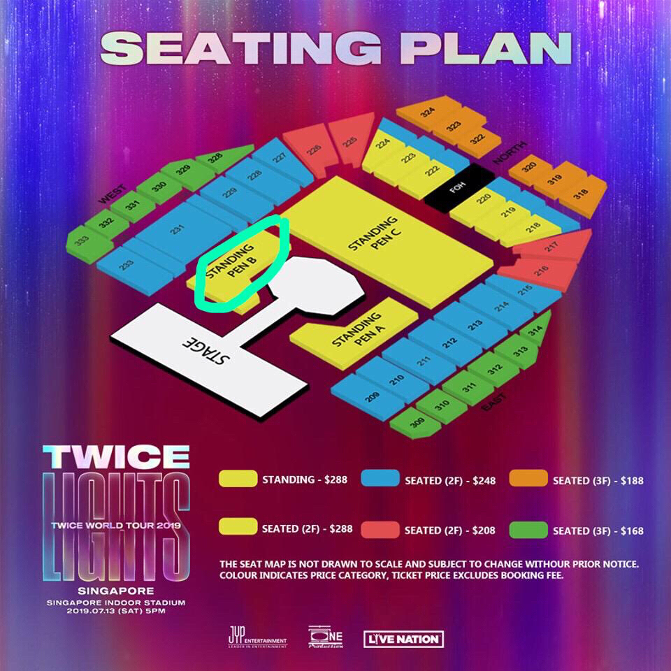 Concert Twice Lights World Tour 2019 Entertainment K Wave On Carousell