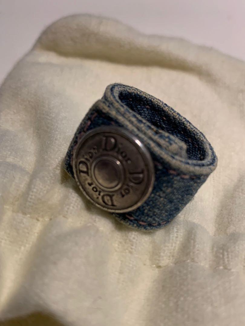 Dior 牛仔布戒指
