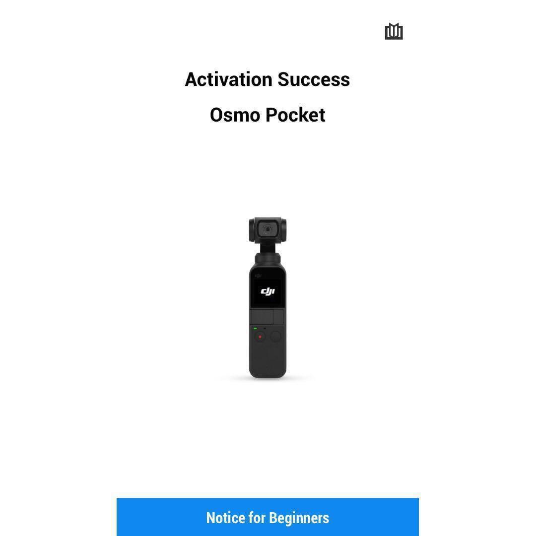 DJI Osmo Pocket [BNIB] - sealed and not activated!