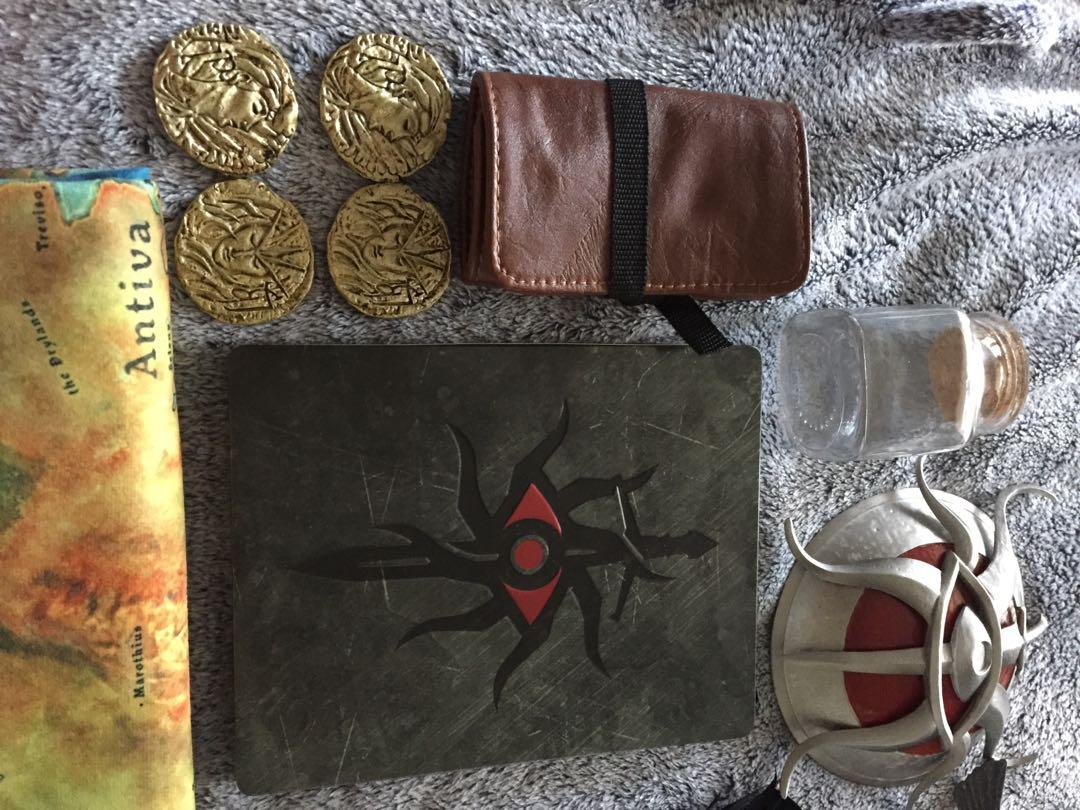 Dragon Age Inquisition Inquisitor's Edition Items Steelbook Map Figures