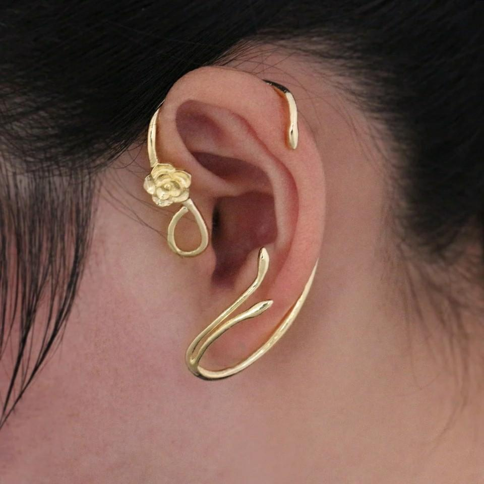 Earcuff Princess Belle Beauty and The Beast