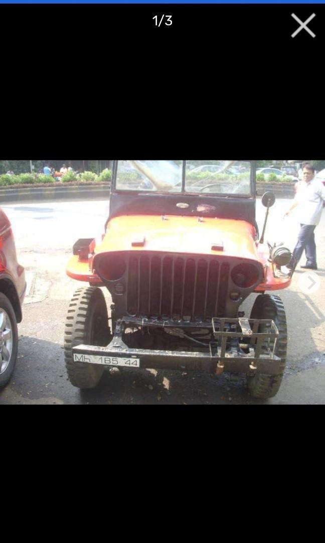 FORD 1944 REGISTRATION JEEP - VINTAGE CLASSICAL CAR
