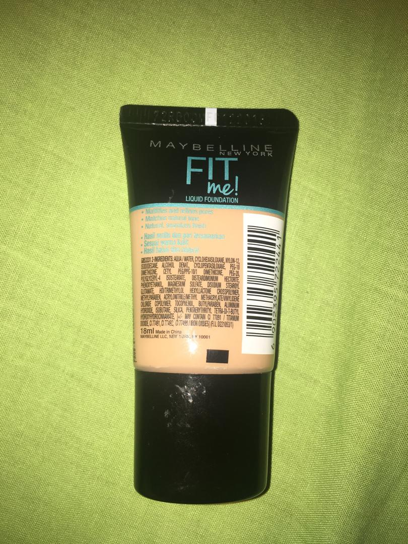 Foundation maybelline fit me 18 ml shade 130