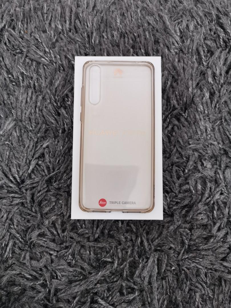 Huawei P20 Pro Original Case Transparant
