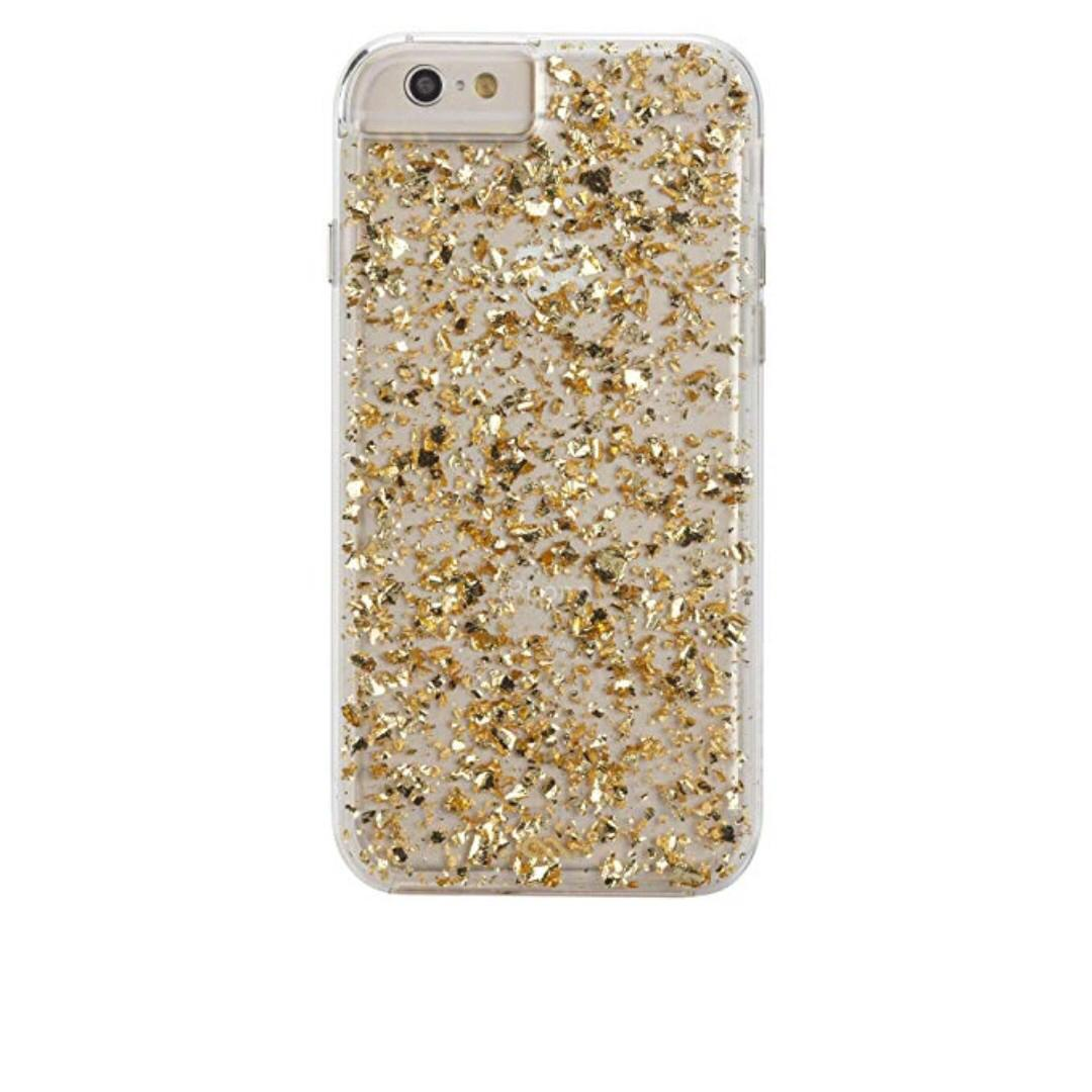 Iphone 6/7/8 Gold Flakes Case