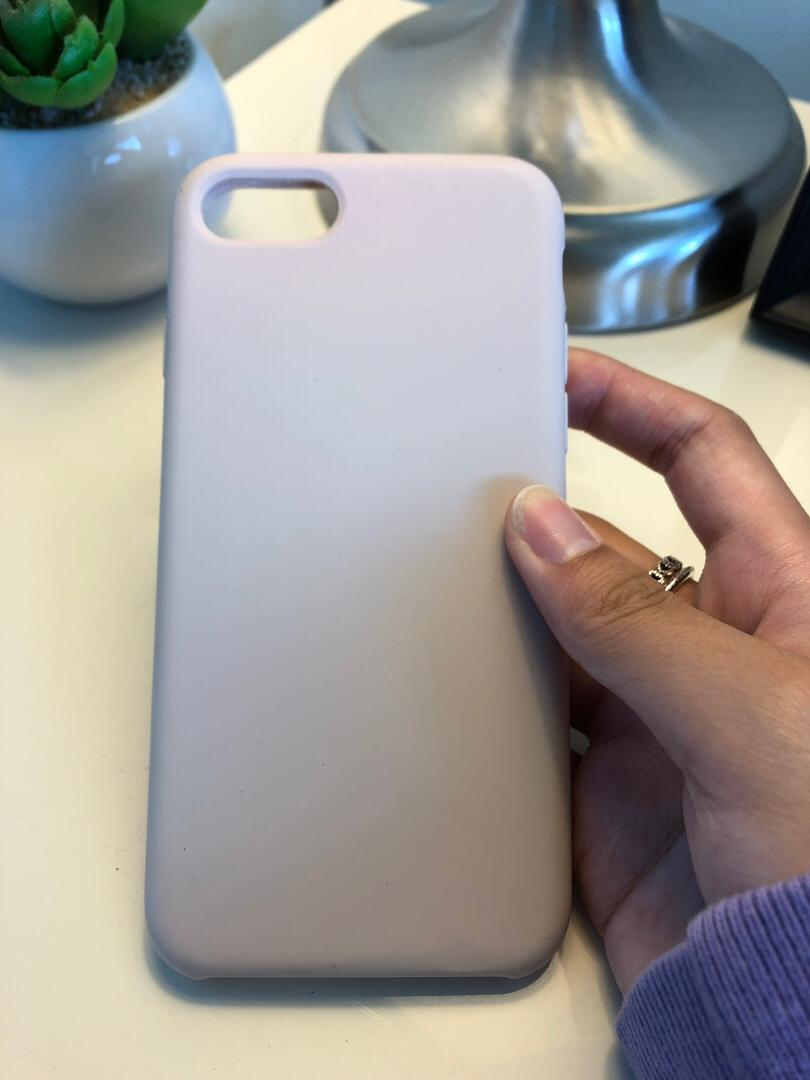IPhone 6/7/8 Silicon Pink Case
