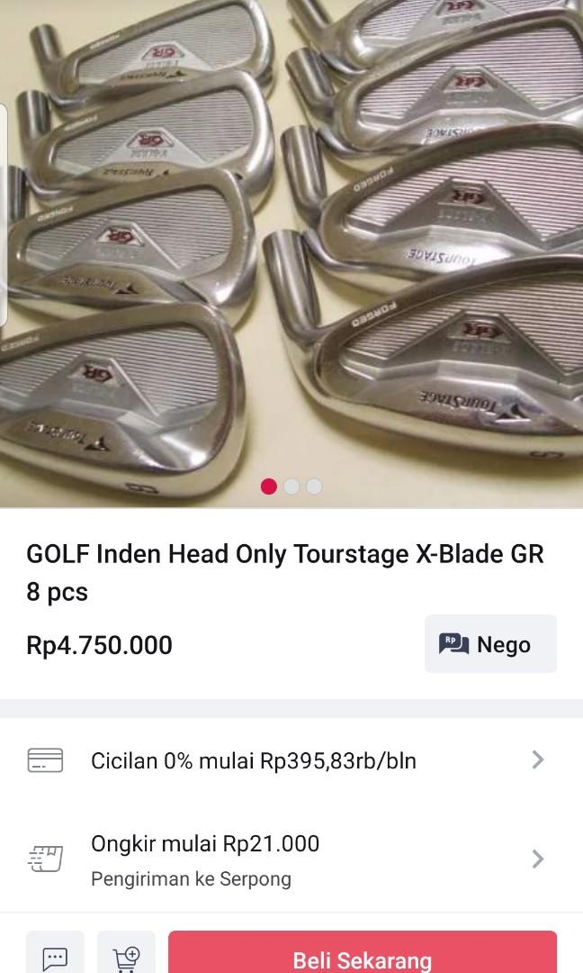 Iron Set Tourstage X-Blade GR with NSPRO Xelos 8 R shaft