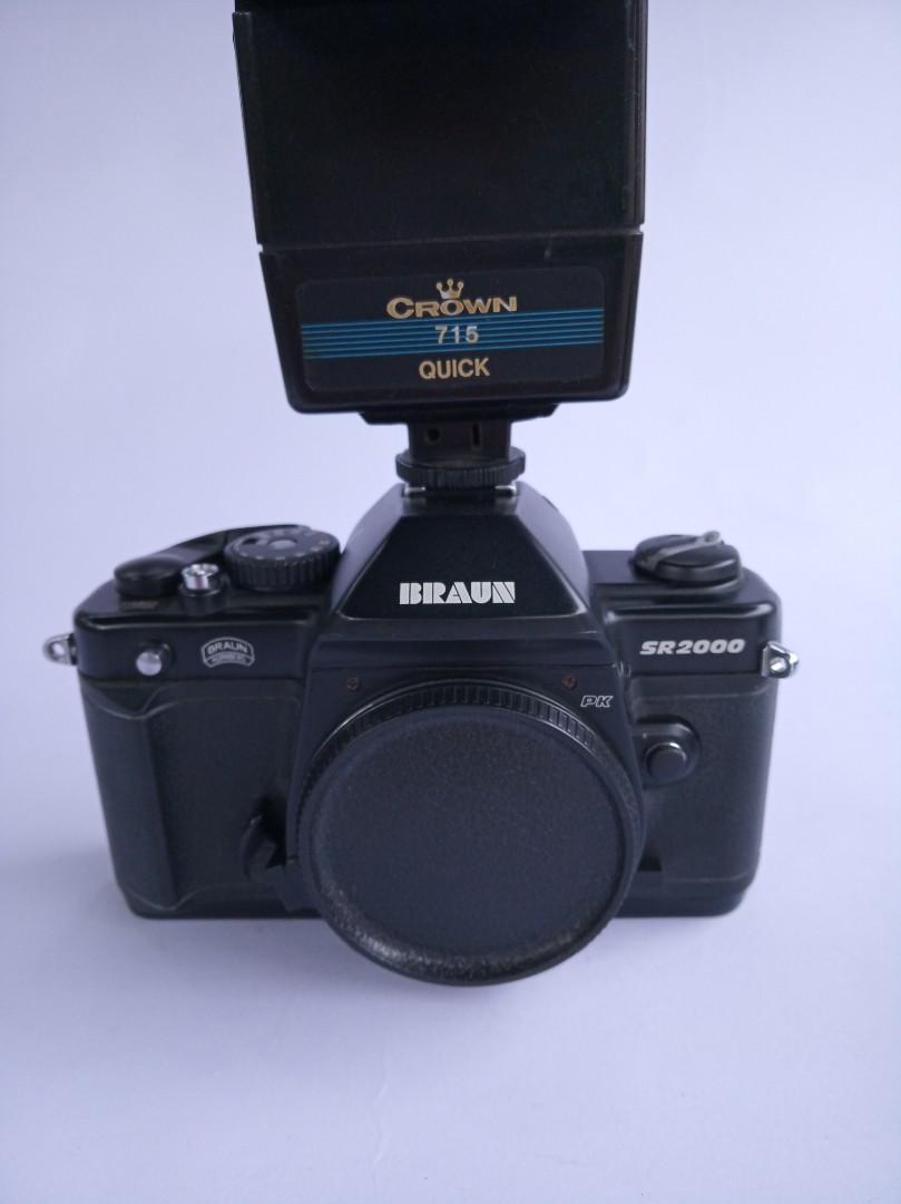 Kamera Analog Braun SR 2000