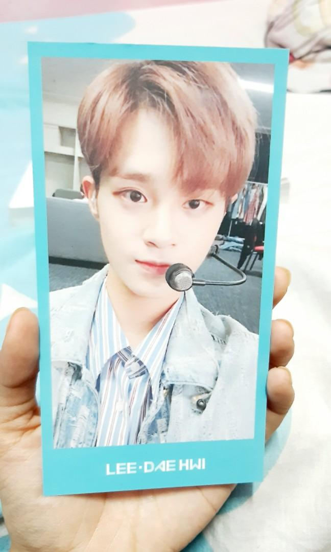 Lee Daehwi photocard