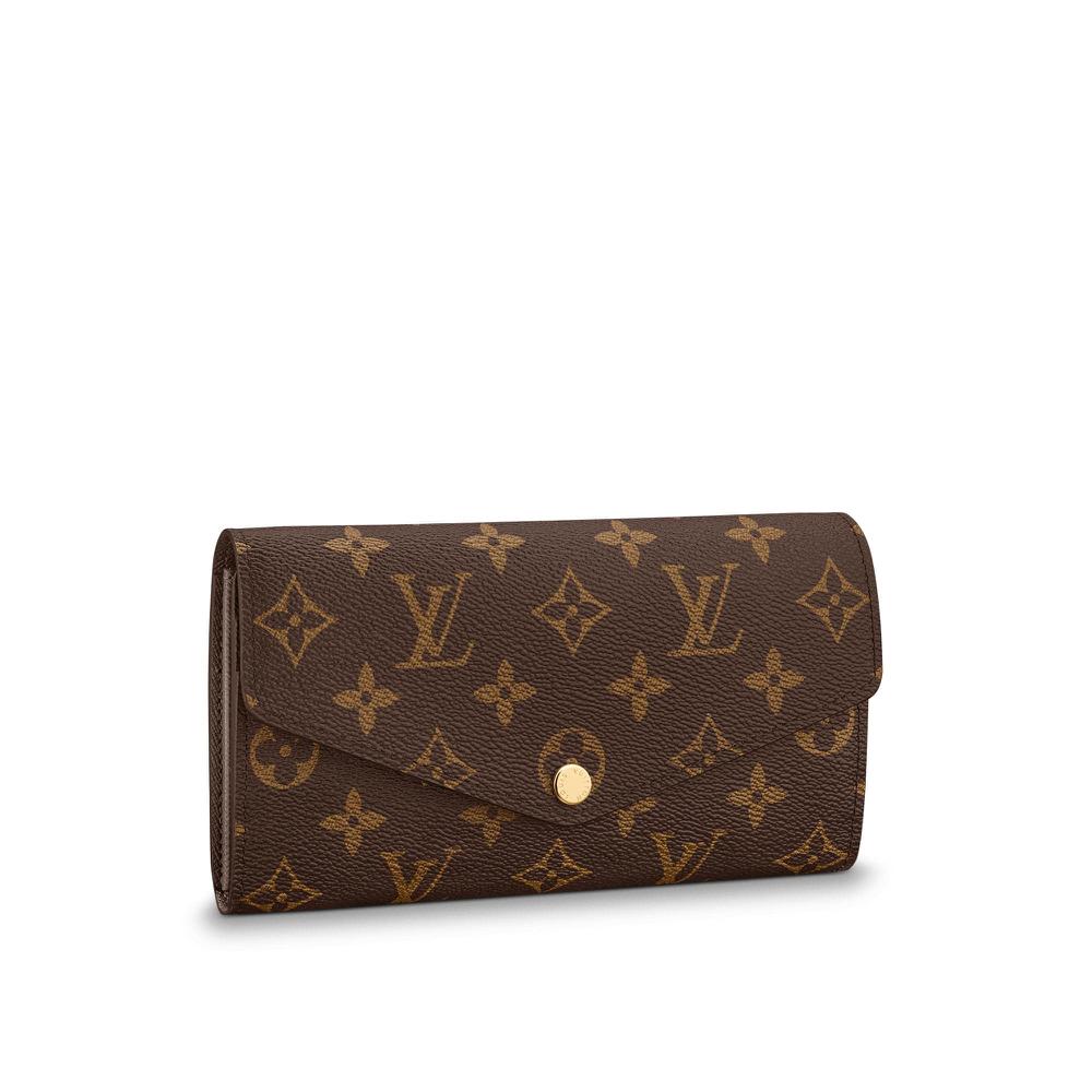 promo code b69a0 98916 Louis Vuitton Sarah Wallet Fuchsia Monogram M62234, Luxury ...