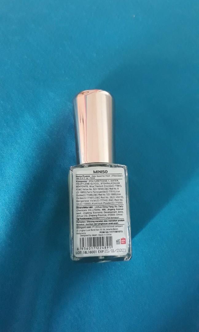 Miniso Nail Polish (07 mint green)