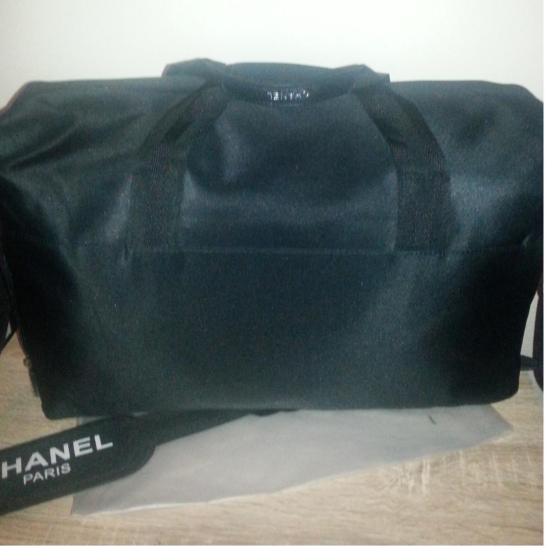 New Canvas VIP Gift Chanel Duffle Bag.