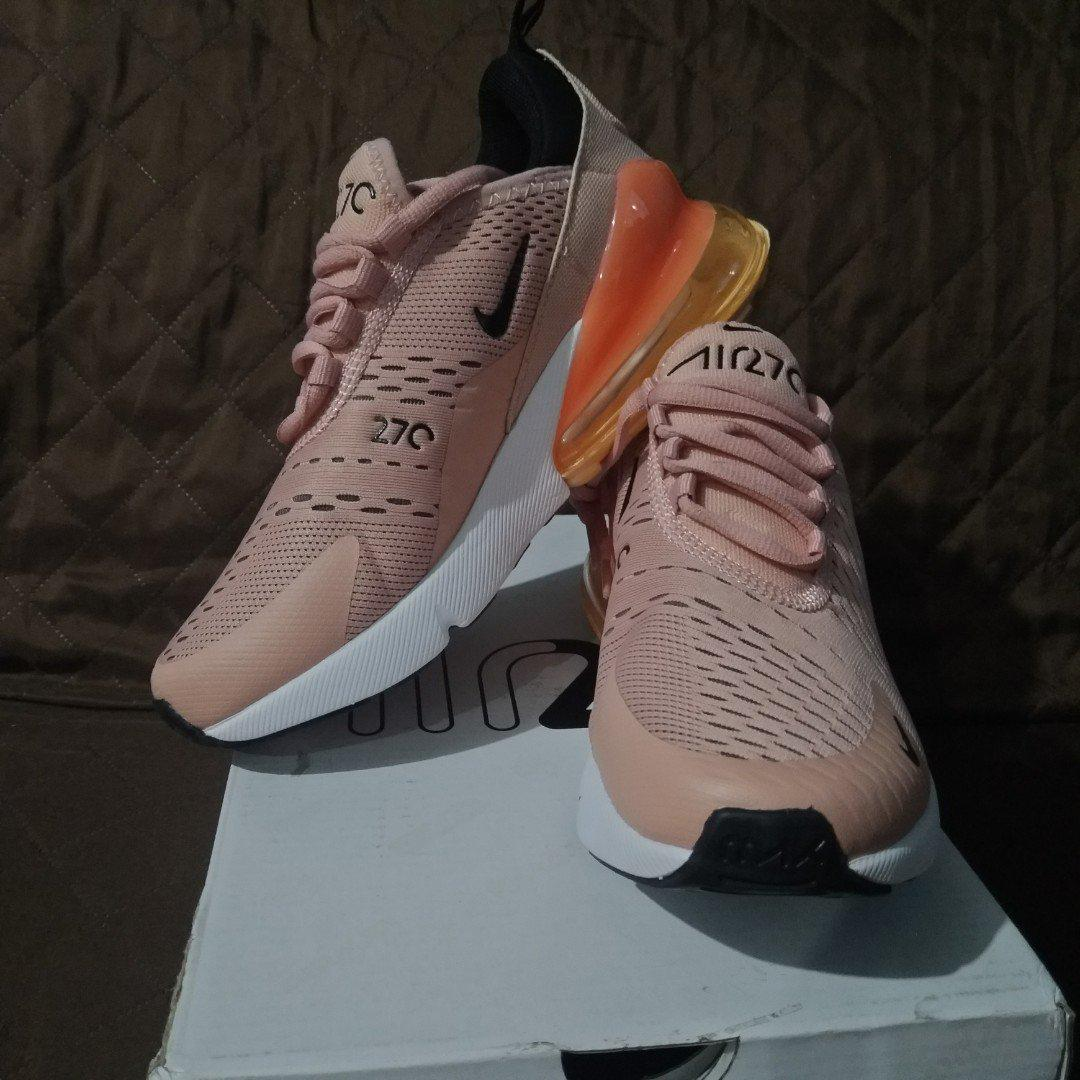 on sale 254f8 87d2b Nike AirMax 270 'Coral Stardust' repriced on Carousell