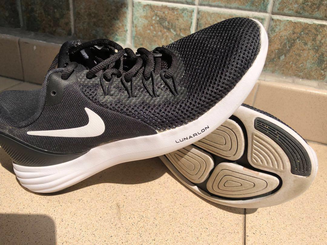 acquazzone mosaico magro  Nike Lunarlon lady running shoe, Sports, Sports Apparel on Carousell