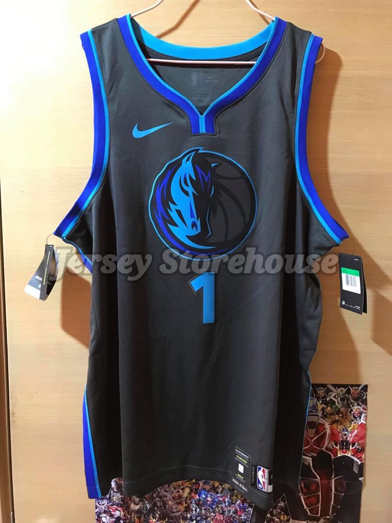 save off 0f0ff a0da5 Nike NBA Dennis Smith Jr. Dallas Mavericks City edition Swingman Jersey 球衣  波衫