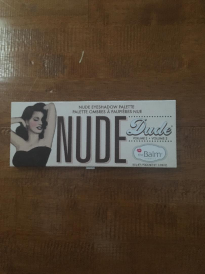 nude dude eyeshadow palette vol. 2
