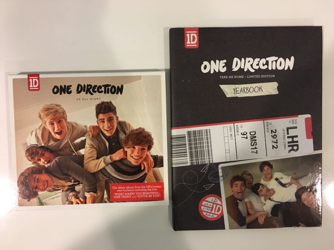 One Direction Up All Night & Take Me Home Deluxe Album
