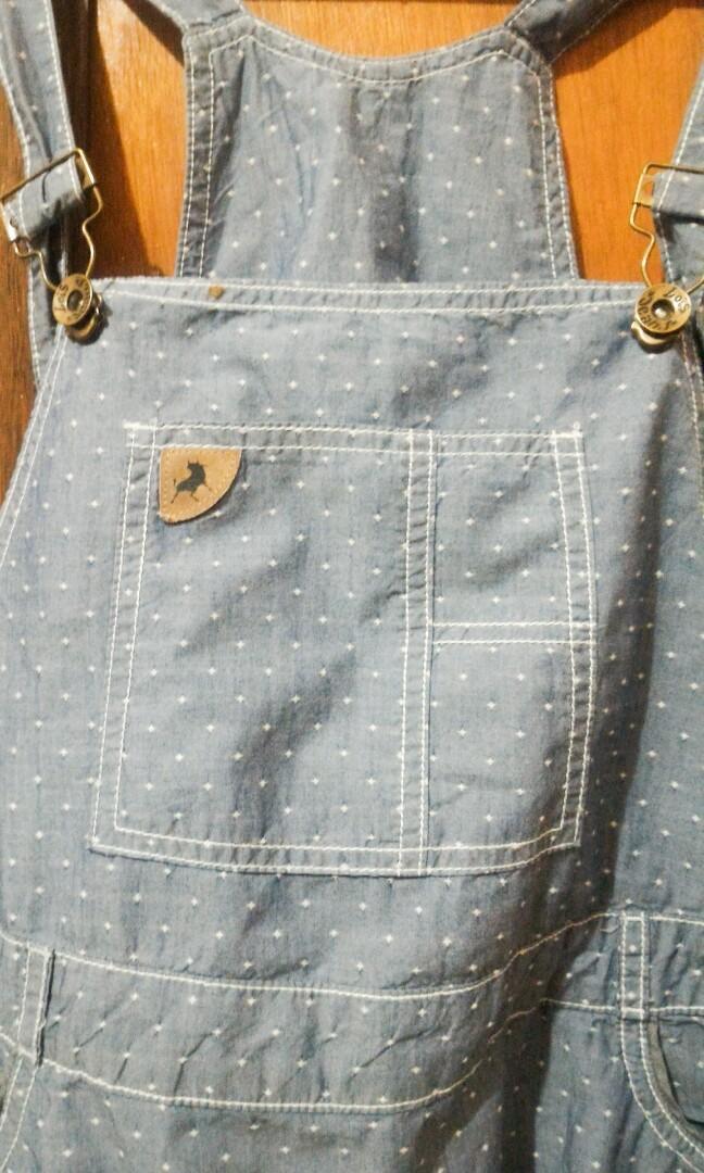 Overall Skirt Jeans Lois