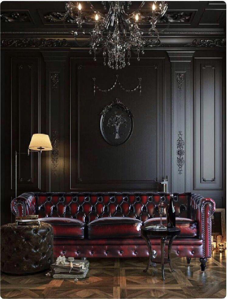 Oxblood Chesterfield Sofa 3 Seater