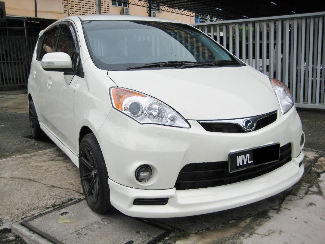 Perodua Alza 1.5 dvvt auto leather seat tiada lesen can loan Rm 4xx bulanan