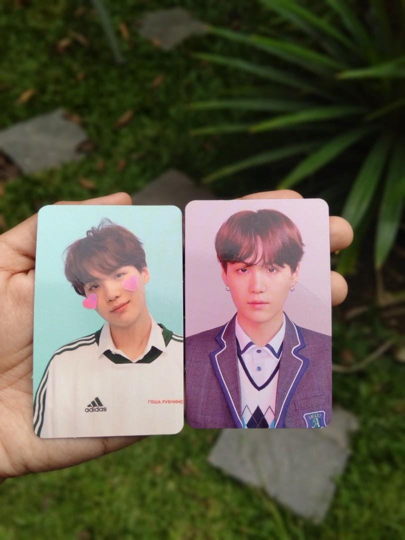 Photocard (pc) yoongi/suga BTS from album Love yourself answer versi L dan F official