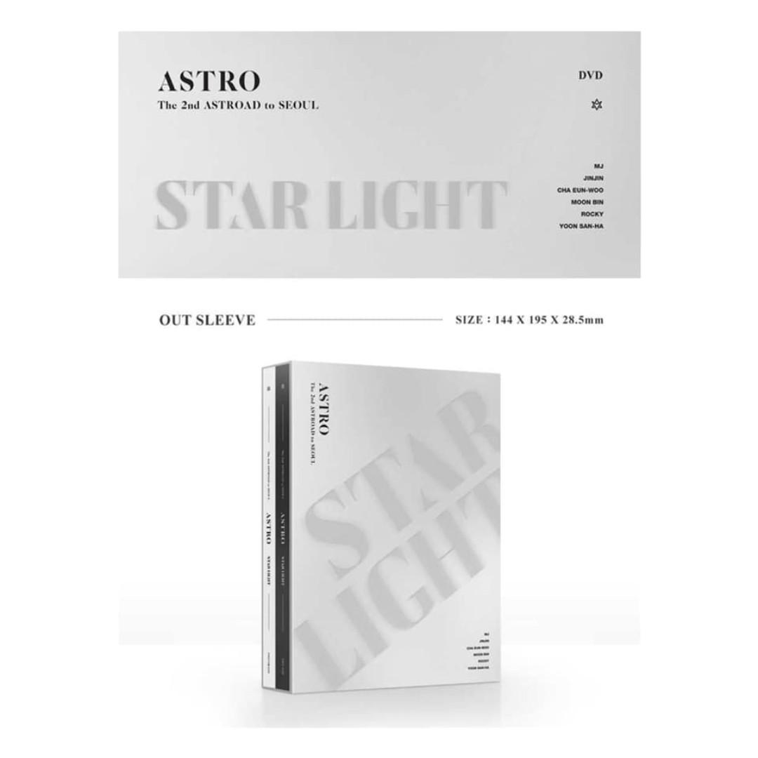 [Pre-order] ASTRO 아스트로 THE 2ND ASTROAD TO SEOUL DVD - STAR LIGHT