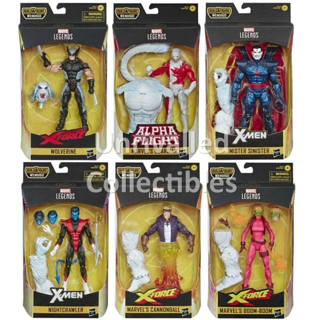 "Marvel Legends Cannonball Wendigo 6/"" Figure en stock"