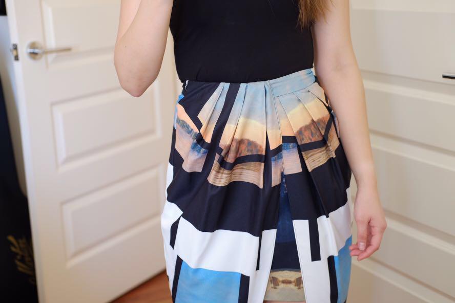 SHEIKE Wrap Skirt (size 8)